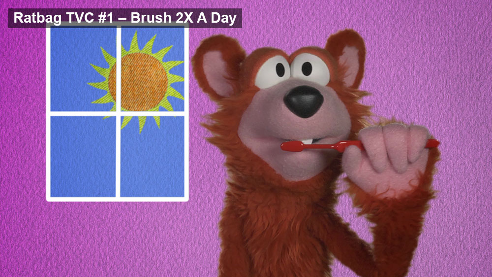 Ratbag 60'' TVC#1 — Brush 2X A Day